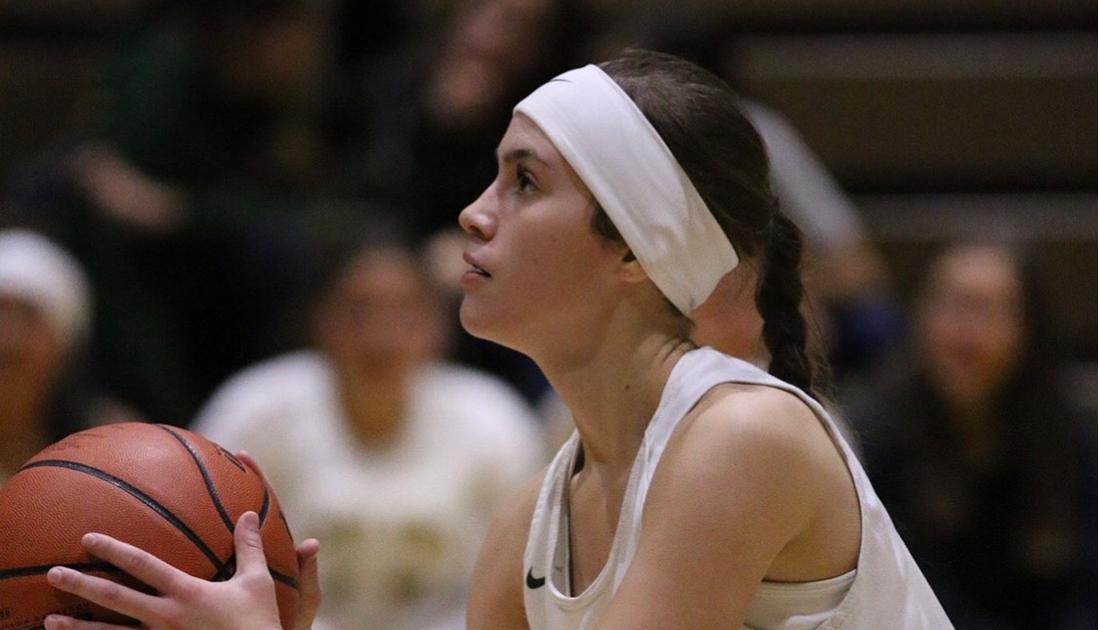 Estancia Christmas Basketball Tournament 2021 Subway Student Spotlight Briana Marquez West Las Vegas High School Nmaa